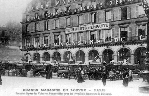 les grands magasins du louvre en 1900. Black Bedroom Furniture Sets. Home Design Ideas